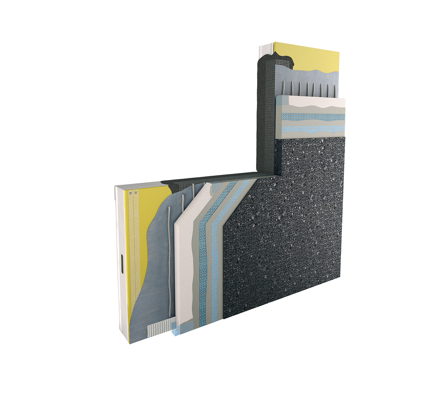 Lymestone dryvit Direct applied exterior finish system